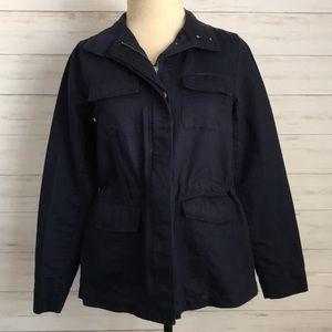 CROWN & IVY navy blue jacket